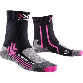 X-Bionic Air Step 2.0 Trekking Socks Women Black/Fuchsia